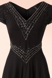 Bunny Black Long Sequin Party Dress 108 10 19559 20161201 0005V
