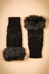 Collectif Clothing Fingerless Faux Fur Gloves 259 10 20318 12072016 004W