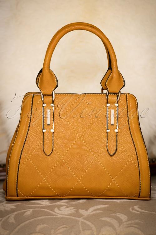 La Parisienne Mustard Handbag 212 80 20757 12122016 014W