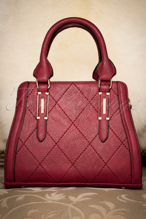 La Parisienne Red Handbag 212 20 20759 12122016 012W