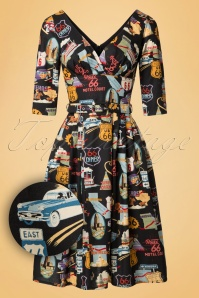 Victory Parade Retro Frock Route 66  102 14 20040 20161219 0003W1