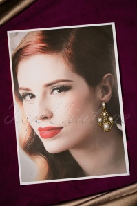 Darling Divine Antique Gold Earrings 334 51 20806 12192016 011W