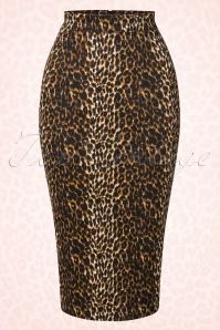 Vixen by Micheline Pitt Vixen Leopard Skirt 120 79 20382 20161219 0001W