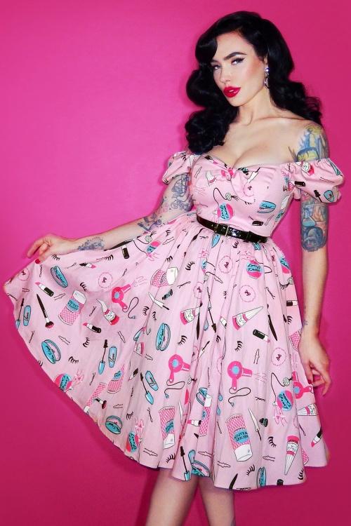 Vixen by Micheline Pitt Vixen Make up Swing Dress 102 29 20684 2