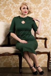 Paula Walks Aida Zack  Sophia Pencil Dress in Green 18676 20161215 0049cw