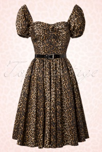 Vixen by Micheline Pitt Vixen Leopard Swing Dress 102 79 20686 20161219 0037W