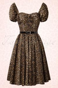 Vixen by Micheline Pitt Vixen Leopard Swing Dress 102 79 20686 20161219 0037W