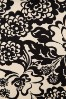 King Louie Borderskirt in Black and Creme Floral Print 123 57 20229 20170109 0005