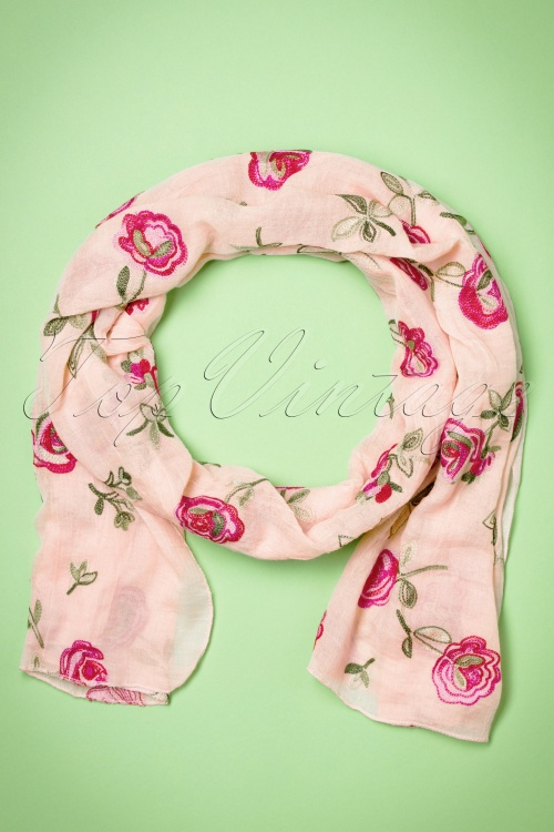 Kaytie Pink Rose scarf 240 29 18326 02292016 009W