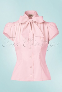 Heart of Haute Estelle Pink Bow Top 112 20 20007 20170112 0004W