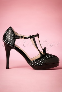 Dancing Days by Banned Black Polkadots One Note Pumps 401 14 20516 20170116 0007w