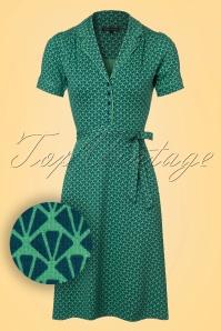 King Louie Bibi Dress in Green 102 49 20208 20170110 0003aW