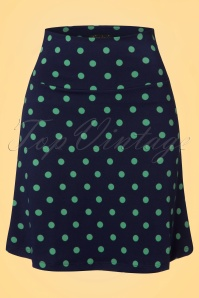 King Louie Border Skirt Polkadots NuitBlue 123 39 20160 20170109 0003w