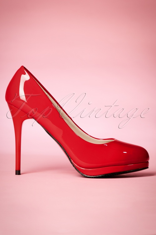 Dancing Days by Banned Manhattan Pumps in Red 400 20 20511 20170116 0002w