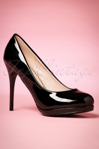 Dancing Days by Banned Manhattan Pumps in Black 400 10 20512 20170116 0011w