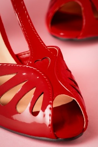 Dancing Days by Banned Secret Love Pumps in Red 401 20 20509 20170116 0070