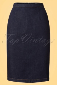 King Louie Denim Dutch Blue Tube Skirt 102 30 20161 20170118 0004W
