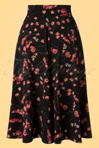 King Louie Serena Skirt Flowers 122 14 20192 20170119 0012w