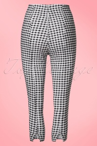 Bunny Black and White Checked Judy Capris 134 14 21058 20170120 0007W