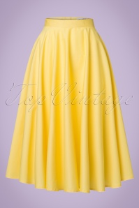 Bunny Paula Swing Skirt in Yellow 122 80 21113 20170120 0015w