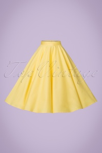 Bunny Paula Swing Skirt in Yellow 122 80 21113 20170120 0009w
