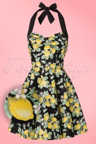 Bunny Leandra Lemon Mini Dress 102 14 21071 20170120 0001W1