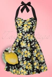 Bunny Leandra Lemon Mini Dress 102 14 21071 20170120 0001W1
