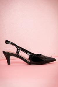 Tamaris Balack Open Heel Sandal 400 10 19850 01232017 038aW