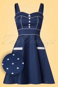 Bunny Vanity Navy Mini Dress 102 39 21044 20170120 0003W1