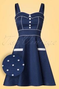 Bunny Vanity Navy Mini Dress 102 39 21044 20170120 0003W1