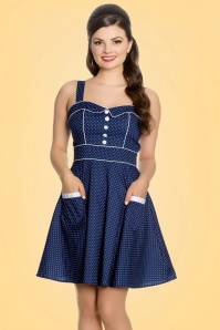 Bunny Vanity Navy Mini Dress 102 39 21044 20170120 001
