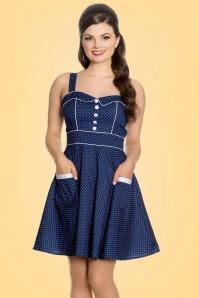 Bunny Vanity Navy Mini Dress 102 39 21044 20170120 001