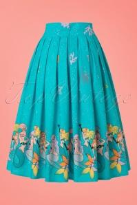 Dancing Days by Banned Gemini Mermaid Skirt in Blue 122 39 20956 20170124 0013w