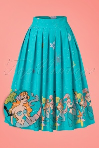 Dancing Days by Banned Gemini Mermaid Skirt in Blue 122 39 20956 20170124 0002wv