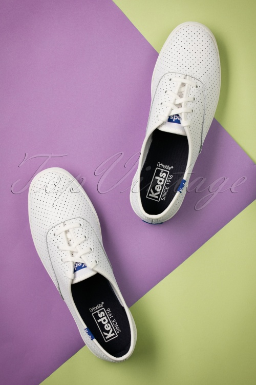Uitstekende schoenen Dames Keds CHAMPION MINI DAISY Wit
