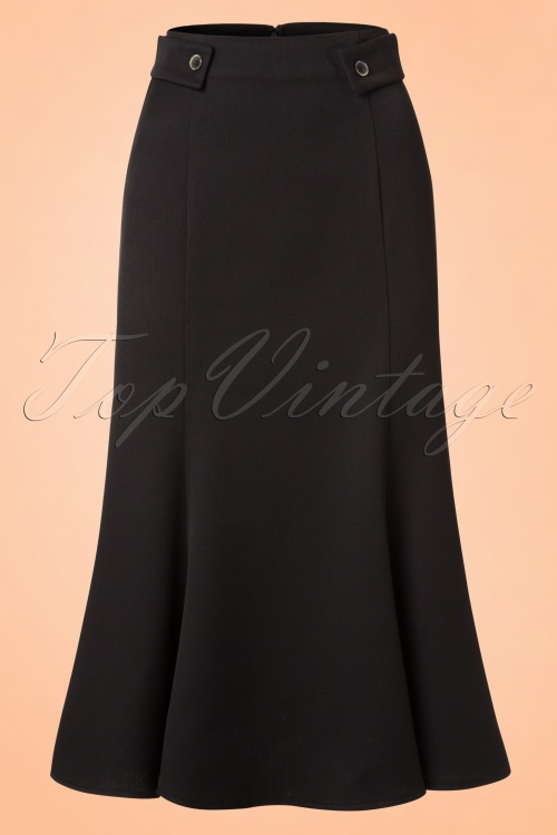 Dancing Days by Banned Elegance Skirt in Black 120 10 20937 20170124 0002W