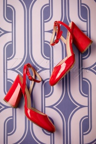 Dancing Days by Banned Unforgettable Lipstick Red Sandals 402 20 20514 01242017 025W