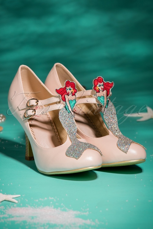 Dancing Days by Banned Stella Pink Marmaid Pumps 401 22 20527 01242017 042W