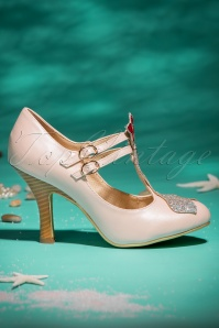 Dancing Days by Banned Stella Pink Marmaid Pumps 401 22 20527 01242017 026W