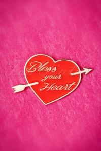 Vixen by Micheline Pitt Lapel Pins Bless your Heart 340 20 20384 01262017 005W
