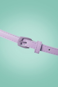 Collectif Clothing Tabitha Belt in Purple 230 60 20356 01312017 004W