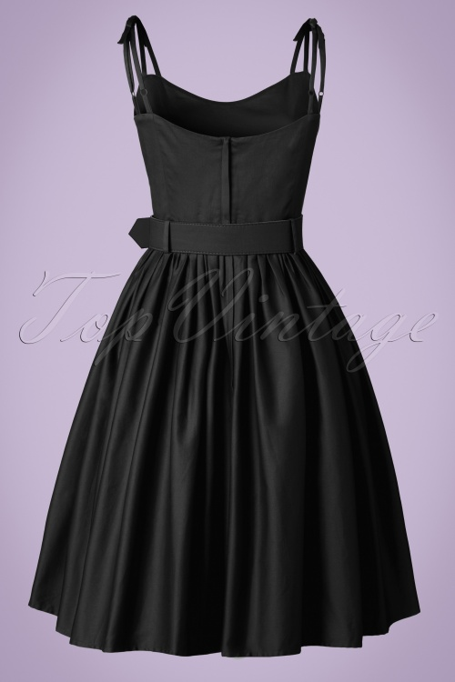 d311915abb66 Collectif Clothing Jade Plain Swing Dress in Black 20836 20161128 0004w