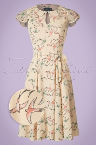Collectif Clothing Tamara Swallow Swing Dress 20841 20161128 0012wv
