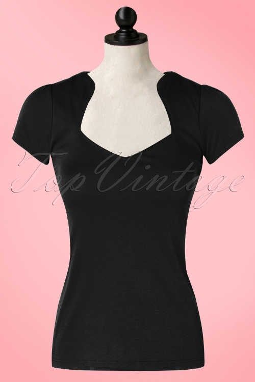 dc8a1cd3d20a1c Steady Clothing Piped Sophia Tee In Black 111 10 10636 20151123 0003wdoll
