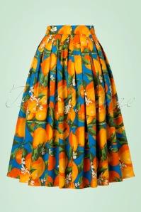 Dancing Days by Banned Laneway Orange Skirt 122 39 20925 20170201 0011W