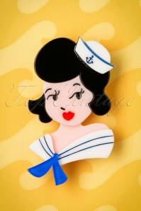 TopVintage exclusive ~ 60s Ahoy, Sailors! Brooch