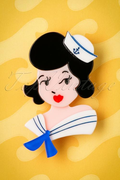 Erstwilder Ahoy Sailors Brooch 340 10 21168 02012017 003W
