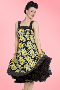 Bunny Leandra 50s Lemon Dress 102 14 21070 20170202 003