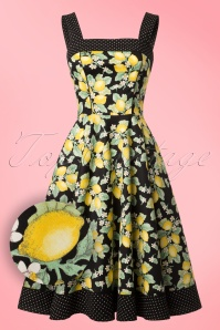 Bunny Leandra 50s Lemon Dress 102 14 21070 20170202 0002W1