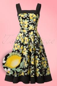 Bunny Leandra 50s Lemon Dress 102 14 21070 20170202 0002W1